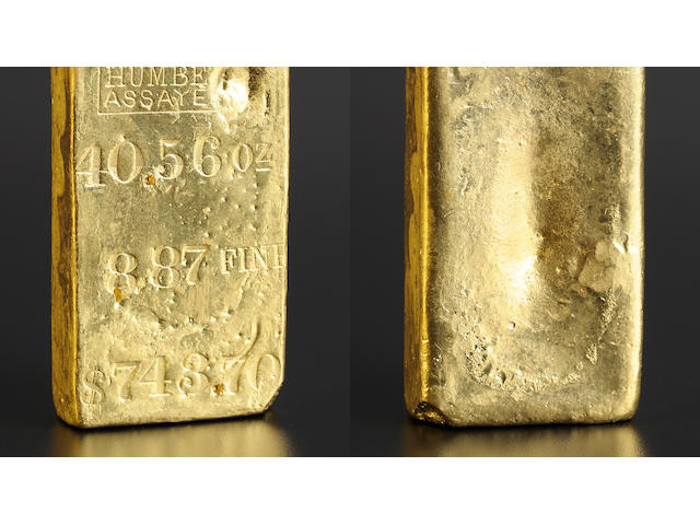 Kellogg & Humbert 40.56 Ounce Gold Bar -&#173;- Ex: <i>S.S. Central America</i>