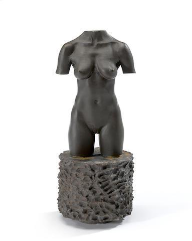Robert Graham (1938-2008) MOCA Torso, 1992-95 11 x 4 1/2 x 4 1/2in (27.9 x 11.4 x 11.4cm)