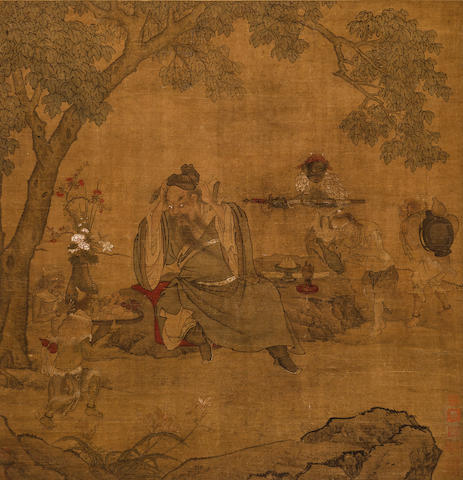 Anonymous (18th Century) Zhong Kui and Demons