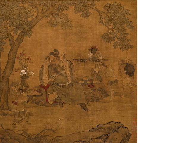 Anonymous, 18th Century  Zhong Kui and Demons