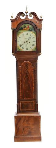 A George IV mahogany tall case clock