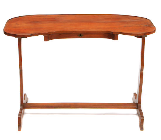 A Provincial style fruitwood vide poche