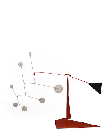 Alexander Calder (1898-1976) Untitled, 1972 15 1/2 x 20 1/2 x 10in. (39.37 x 52.07 x 25.4cm)