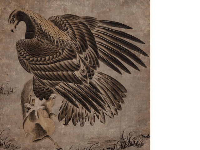 Anonymous (18th century)    Hawk with Prey