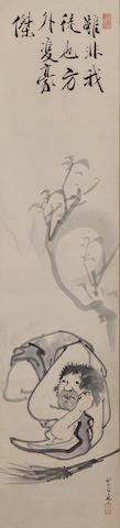 Nagasawa Roshu (1767-1847) <BR />Kanzan and Jittoku