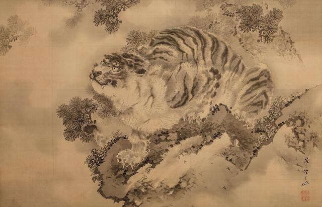 Kishi Gantai (1728-1865)<BR />Tiger