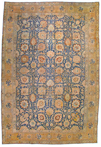 A Tabriz carpet  Northwest Persia size approximately 12ft. 7in. x 18ft. 7in.