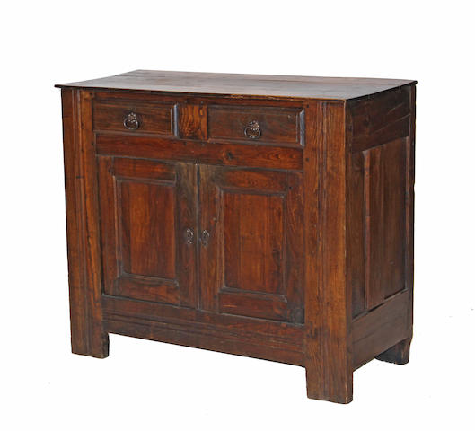 A French provincial oak sideboard 19th century