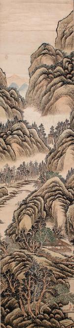 Yuan Ying (active 1765-1785)  Landscape