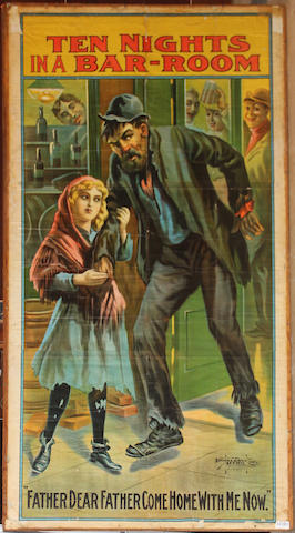 An entertainment litho poster