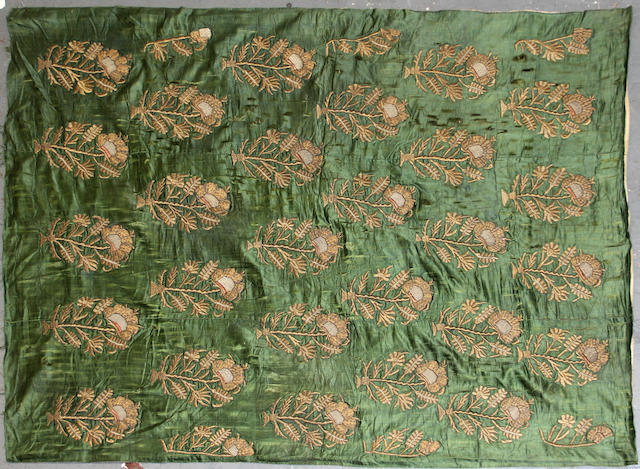 A European textile size approximately 5ft. 11in. x 4ft. 5in.