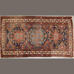 A Hamadan carpet size approximately 5ft. 11in. x 3ft. 5in