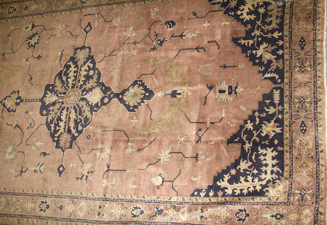 A Sparta carpet size approximately 10ft. 9in. x 18ft. 8in.
