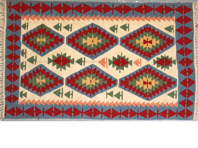 A Kilim size approximately 4ft. x 6ft.