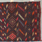 A Kilim runnner size approximately 2ft. 7in. x 7ft. 9in.