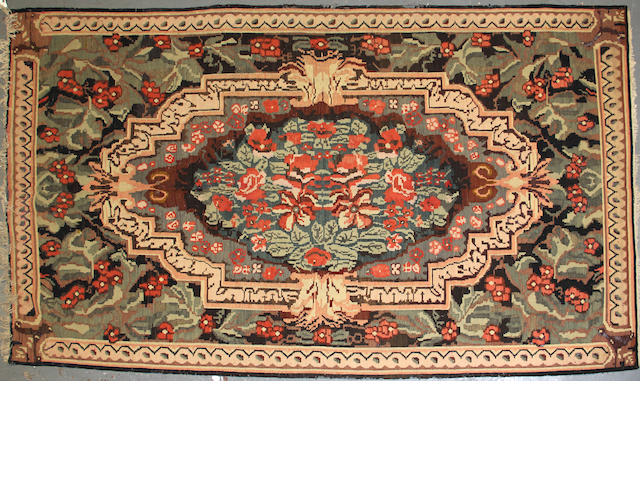 A Besarabian kilim size approximately 6ft. 4in. x 10ft. 11in.
