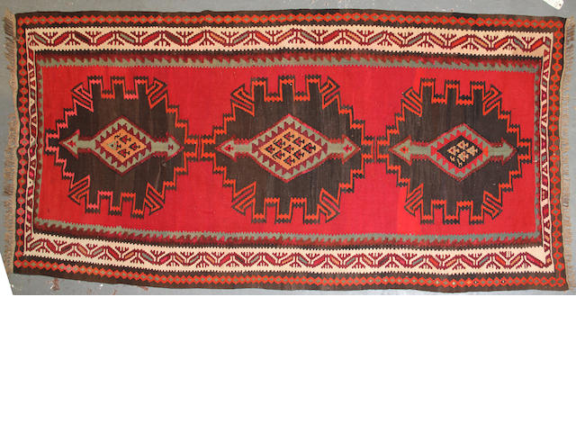 A Kilim size approximately 5ft. x 10ft.