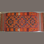 A Kilim size approximately 5ft. 10in. x 13ft. 9in.