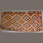 A Kilim size approximately 6ft. x 13ft. 3in.