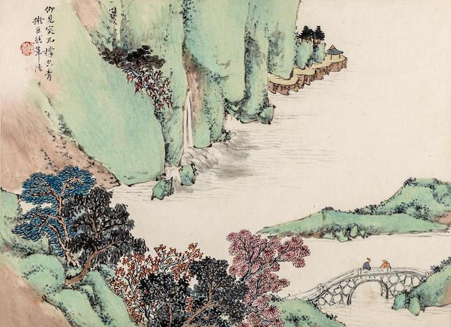 Tao Tao (1825-1900)  Landscape album
