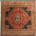 A Mahal rug size approximately 4ft. 10in. x 5ft.