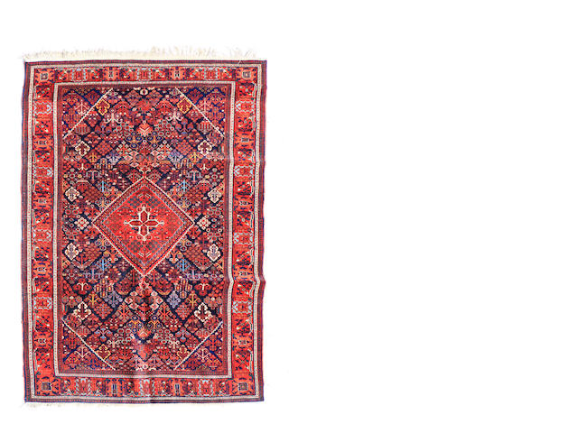 A Joshghan Sarok size approximately 4ft. 6in. x 7ft. 7in.