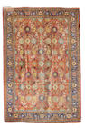 A Tabriz rug size approximately 10ft. 9in. x 15ft. 2in.