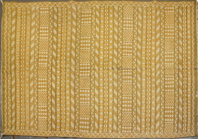 A Morrocan Kilim size approximately 6ft. 2in. x 9ft. 2in.