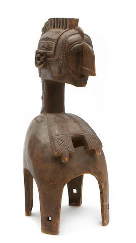 A Modern Baga Nimba shoulder mask