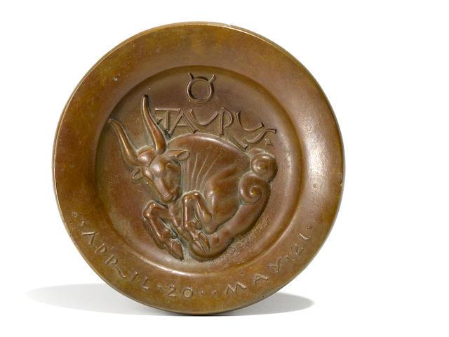Paul Manship, bronze, Taurus