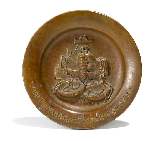 Paul Manship, bronze, Libra