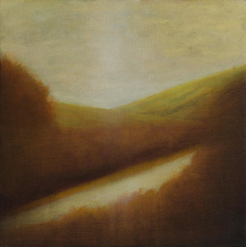 Wade Hoefer (born 1951) Landscape study, 2008 12 x 12in (30.5 x 30.5cm)