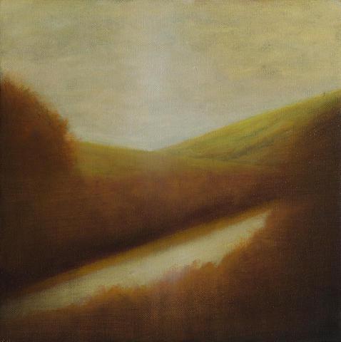 Wade Hoefer (born 1951) Landscape study, 2008 12 x 12in (30.5 x 30.5cm)