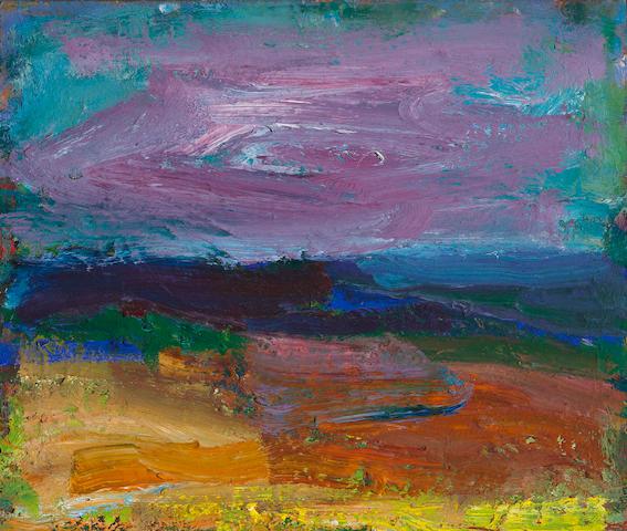 Terry St. John (born 1934) Diablo XVIII, 1991 12 x 14in (30.5 x 35.6cm)