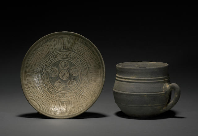 Two Korean ceramics