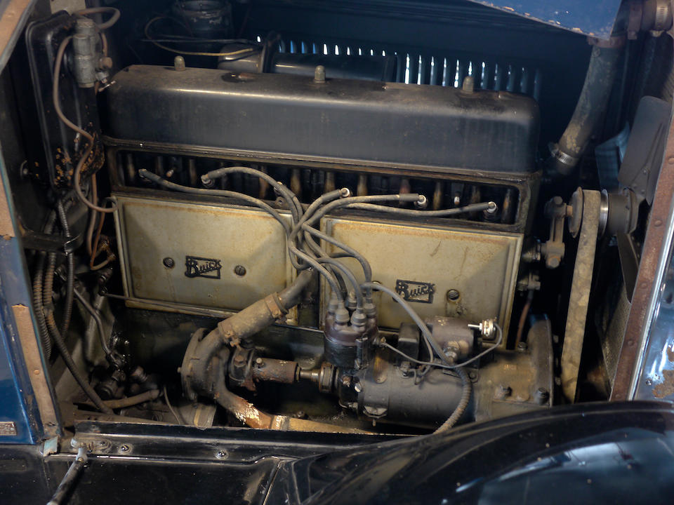 1926 Buick Standard Six Model 20 Two-Door Coupe  Engine no. 1654980