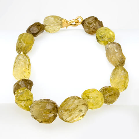 A citrine necklace, Tony Duquette