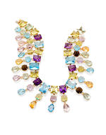 A gem-set necklace, Tony Duquette