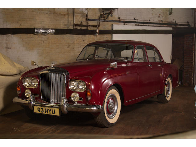 1962 Bentley SII Continental Flying Spur  Chassis no. BC91CZ