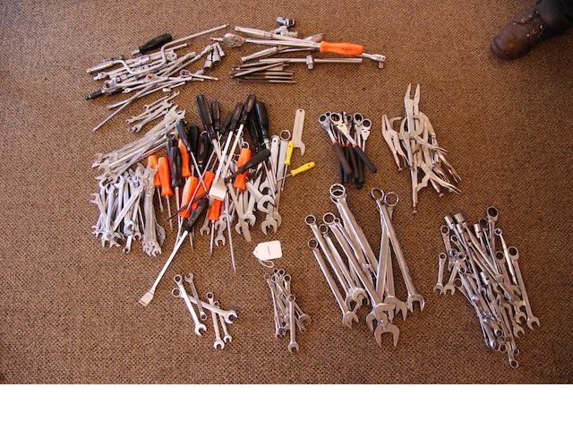 A quantity of automotive tools,