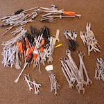 A quantity of automotive tools,
