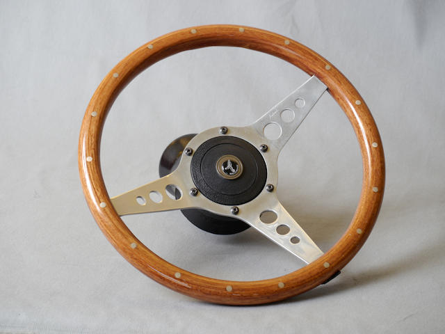 A Nardi Astrali steering wheel,