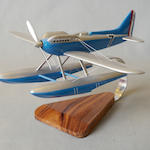 A scale model of the Schneider Trophy seaplane,