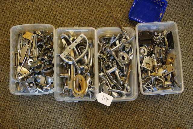 A quantity of body hardware,