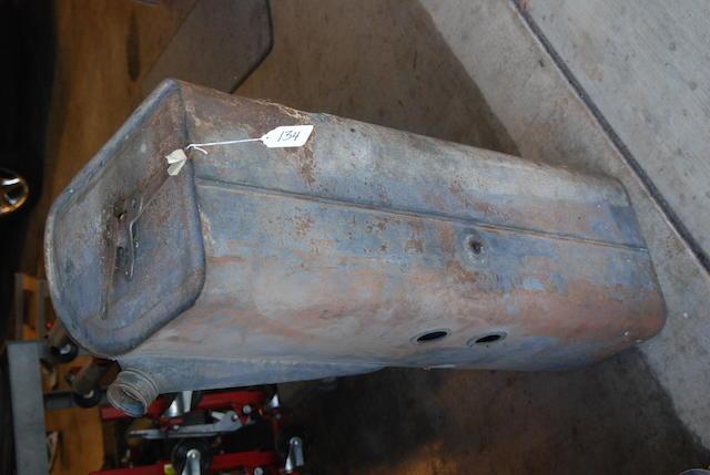 A Rolls-Royce Phantom III gas tank,