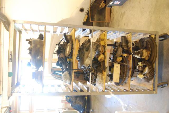 A quantity of Rolls-Royce Phantom III drivetrain parts,