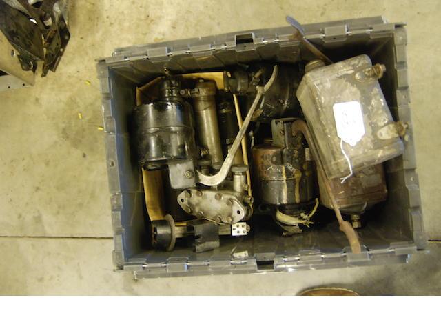 A quantity of Rolls-Royce Phantom III Bijur and BWS jack parts,