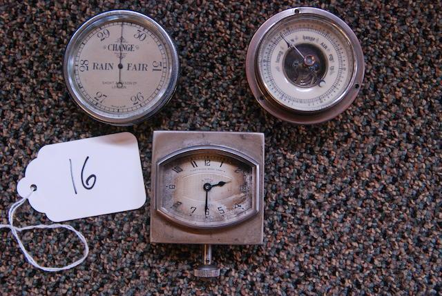 A Jaegar Fleetwood 8 day clock,