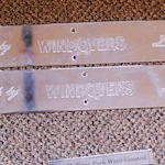 A pair of Windovers coach plates,