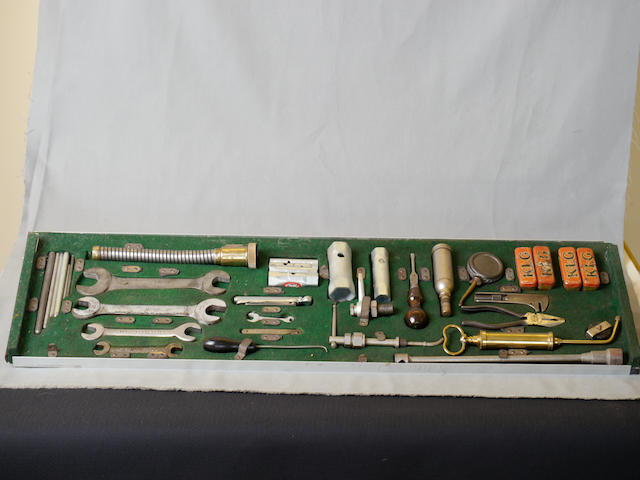 A large complete Rolls-Royce Phantom III tool kit,